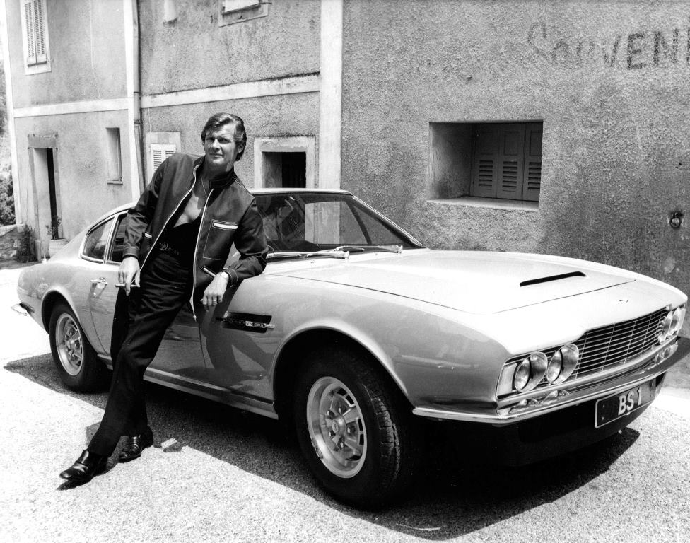 Aston Martin DBS - Roger Moore - The Persuaders! - Lord Brett Sinclair)