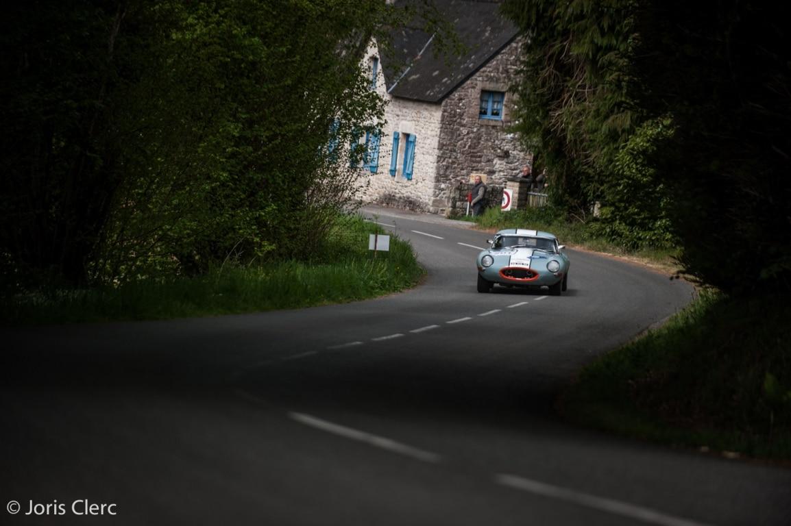Jean-Pierre Lajournade - Jaguar Type E - Tour Auto 2017 (n°201)