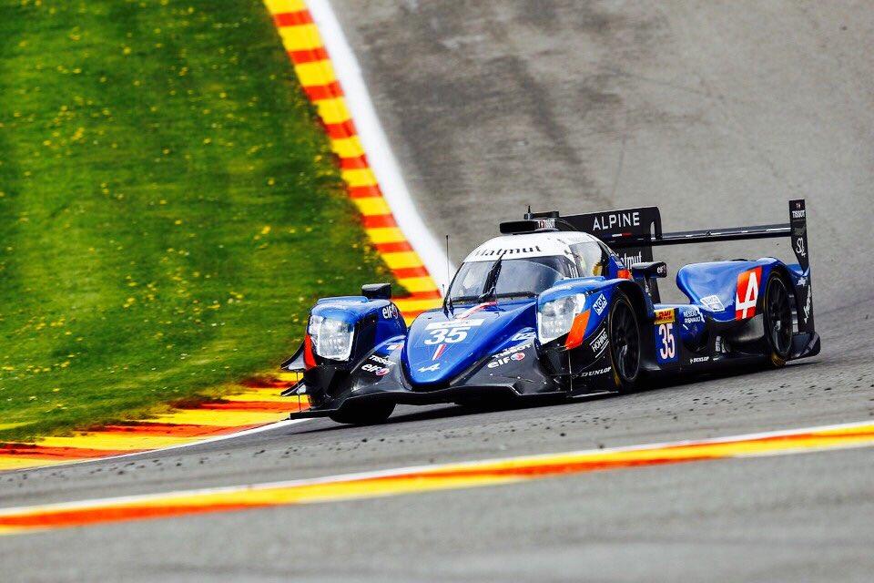 FIA WEC Spa-Francorchamps, LMP2 Alpine A470