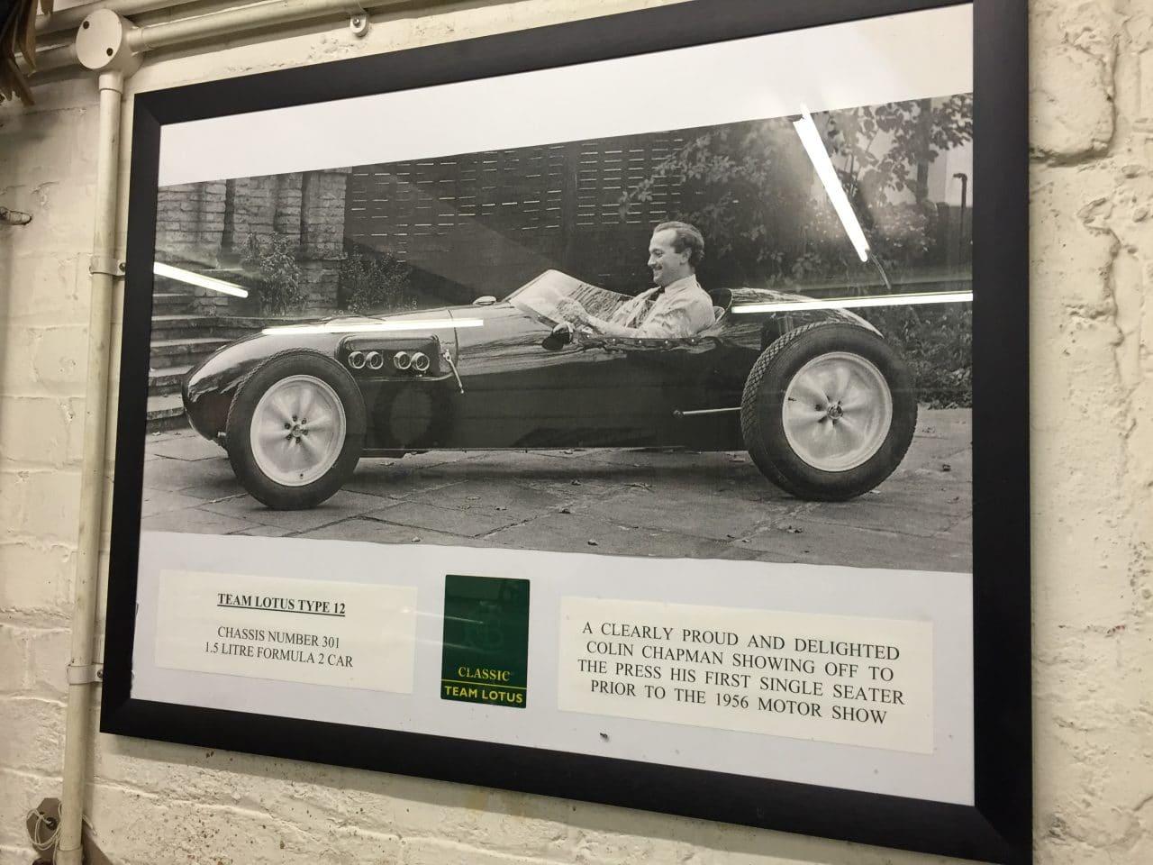 Colin Chapman Lotus type 12