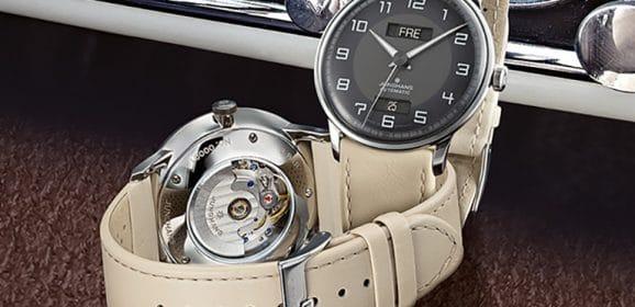 Junghans Meister Driver Day Date : Aux origines de l'automobile allemande