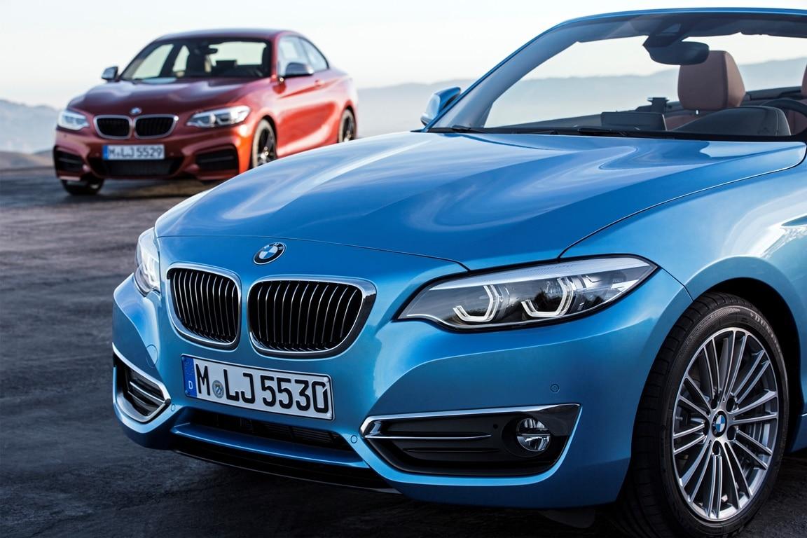 BMW Série 1/Série2 restyling 2017