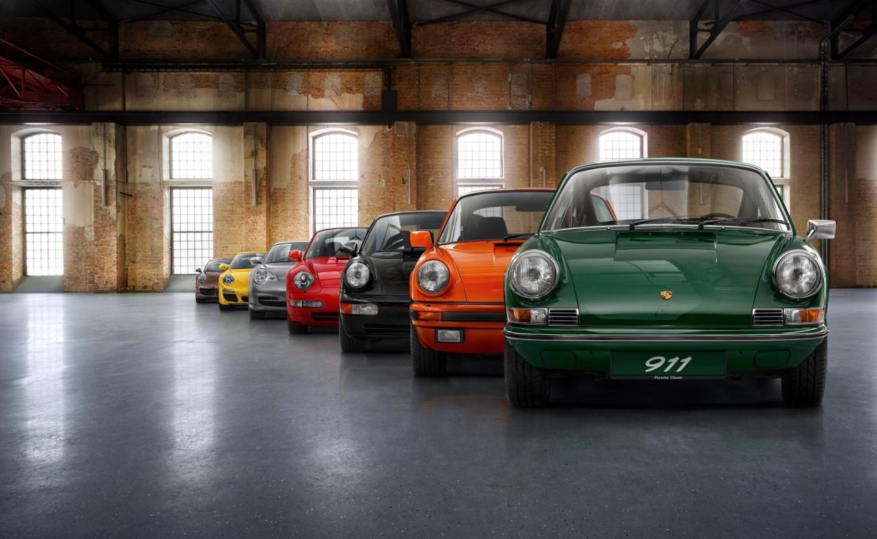 Porsche 911 n° 1 million