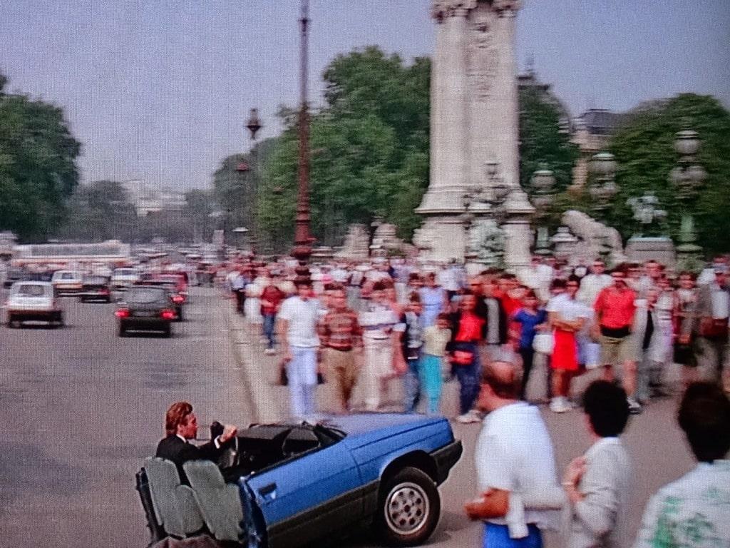 Renault 11 - Roger Moore - Dangereusement vôtre (James Bond)