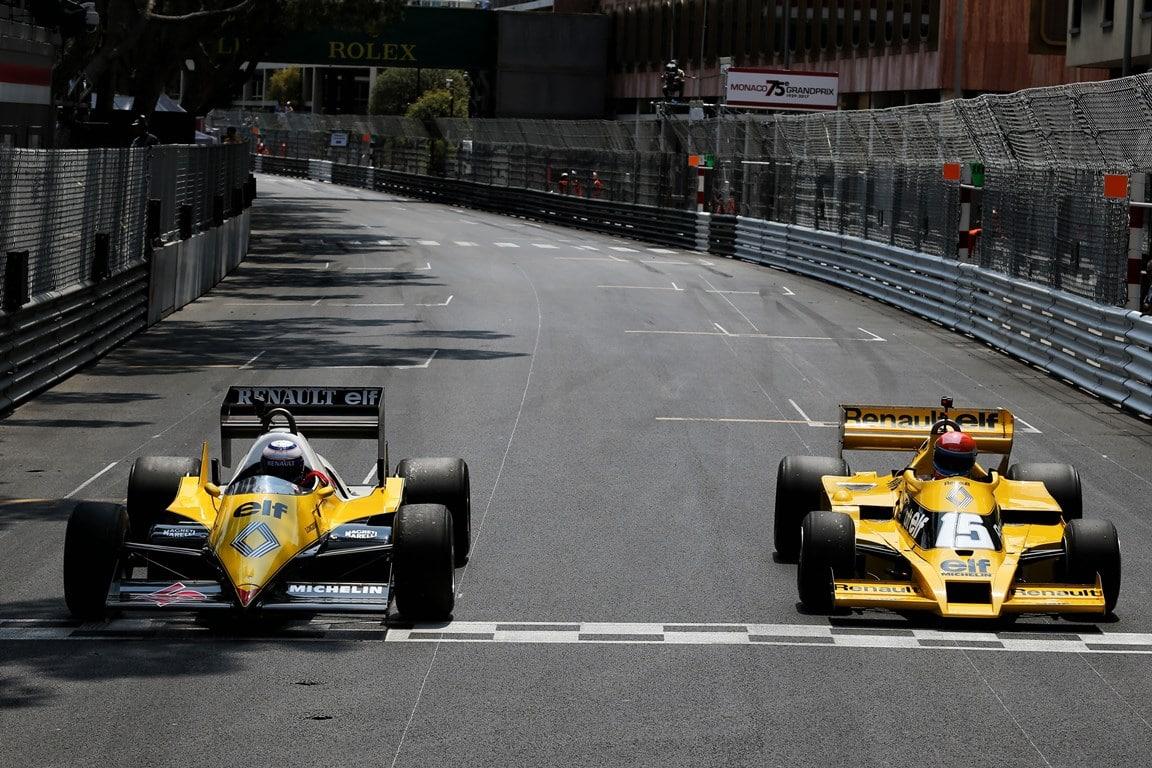 Renault, 40 ans de F1