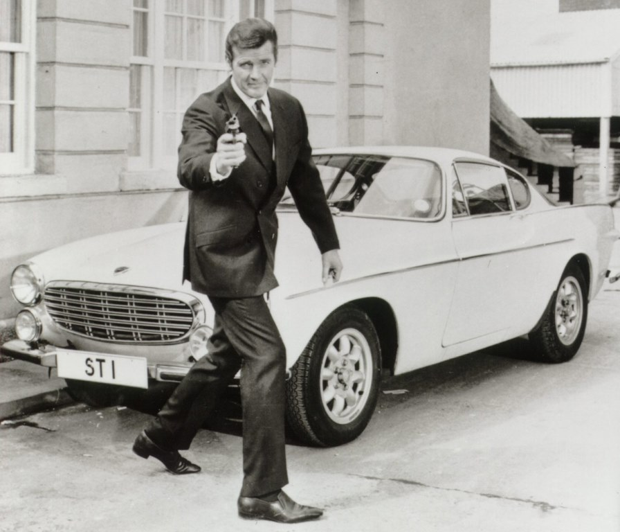 Volvo P1800 - Roger Moore - Le Saint (Simon Templar)