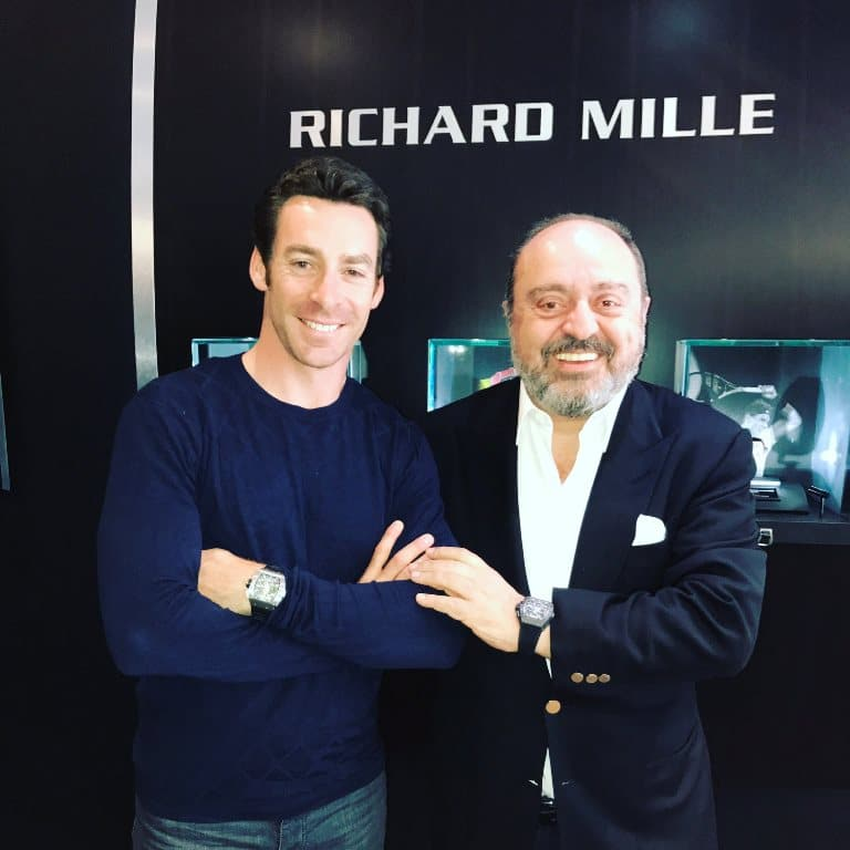 Simon Pagenaud ambassadeur Richard Mille