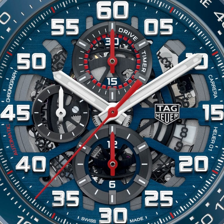 TAG Heuer Carrera Heuer-01 Édition Spéciale Red Bull Racing 2017