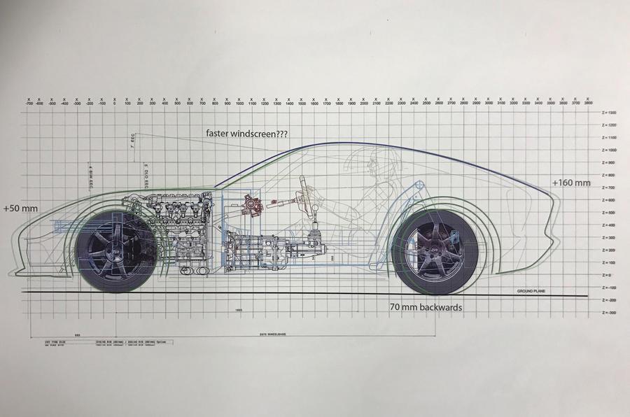 tvr griffith 2017 pr sentation au goodwood revival automotiv press. Black Bedroom Furniture Sets. Home Design Ideas