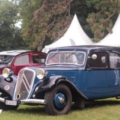2ème Concours d'Elégance Suisse au Château de Coppet (1ere partie)
