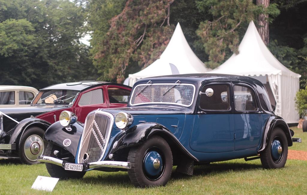 2ème Concours d'Elégance Suisse au Chateau de Coppet