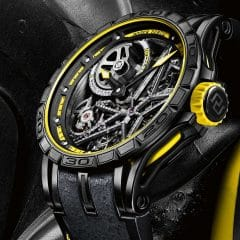 Roger Dubuis Excalibur Spider Pirelli Squelette Automatique Red et Yellow editions