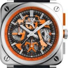 Bell & Ross BR 03-94 Aero GT Orange : Orange mécanique !
