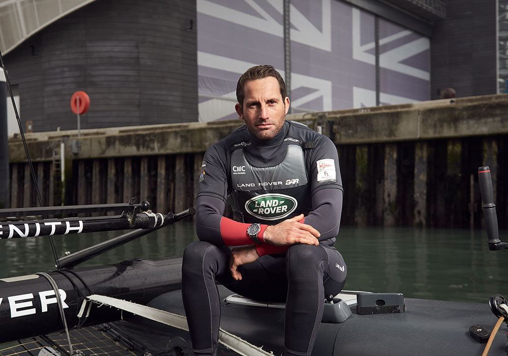 Sir Ben Ainslie,skipper du Land Rover BAR Team