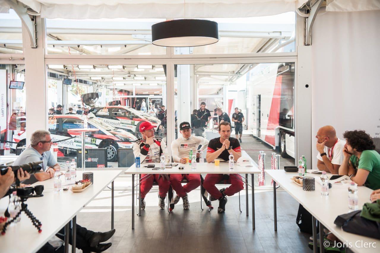 Toyota Gazoo Racing WRC – Rencontre avec les pilotes – Joris Clerc ©