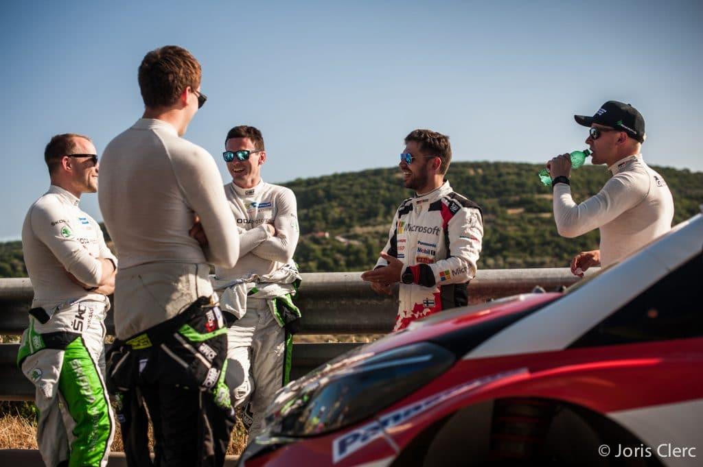 Toyota Gazoo Racing WRC - ES1 - Joris Clerc ©