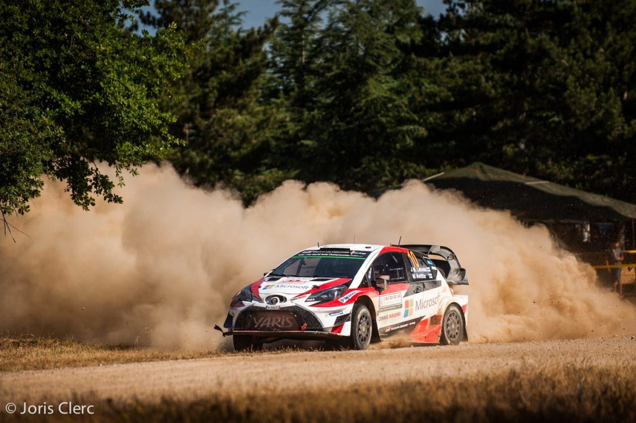 Toyota Gazoo Racing WRC – ES4 – Joris Clerc ©