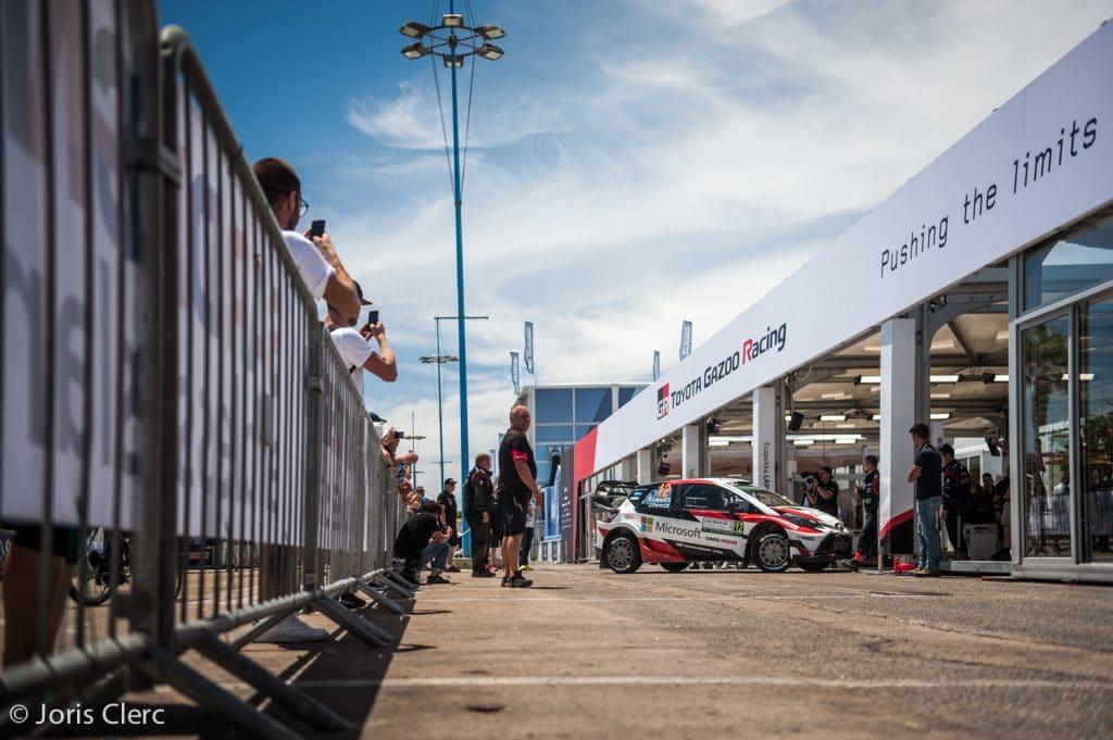 Toyota Gazoo Racing WRC - Service Park - Joris Clerc ©