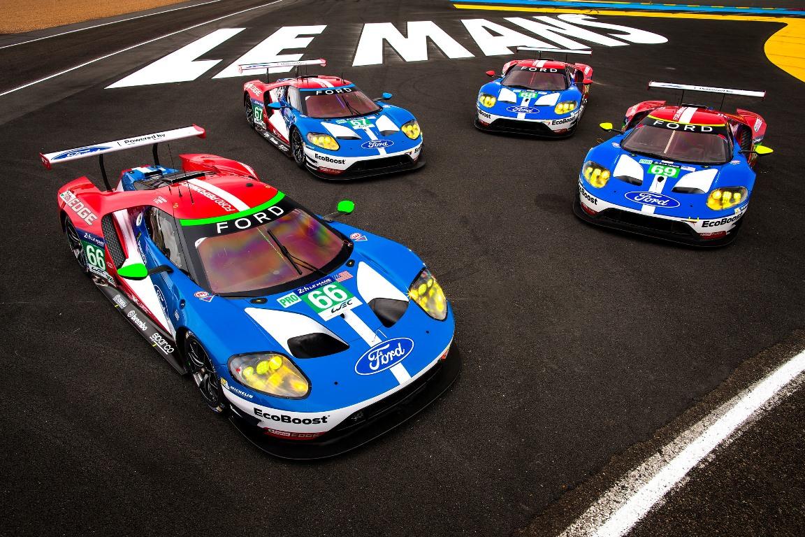 Ford GT LMGTE Pro - 24 Heures du Mans 2017