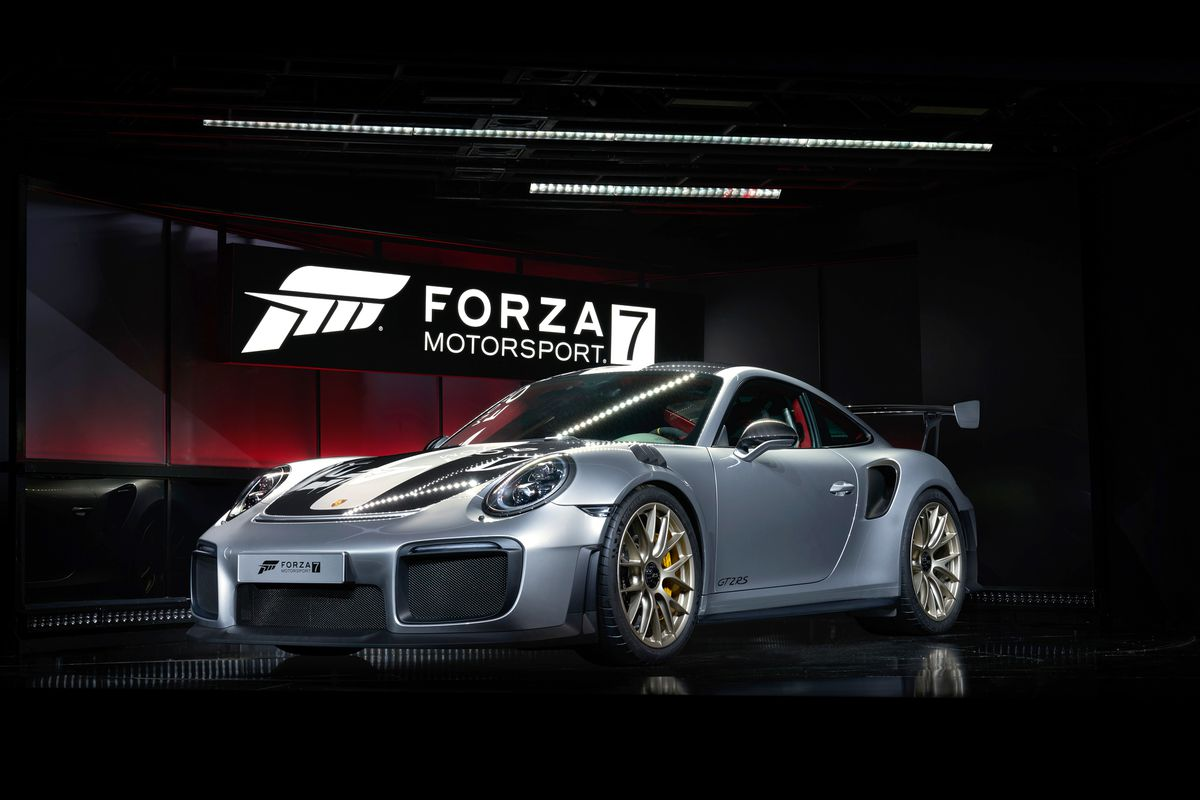 porsche 911 gt2 rs d voil e pour forza motorsport 7. Black Bedroom Furniture Sets. Home Design Ideas