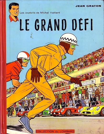 """Michel Vaillant """"Le Grand Defi"""" 1959 - Ed. Lombard"""