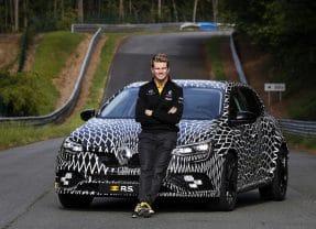 La nouvelle Mégane R.S. proposée en 4 roues directrices et 2 châssis