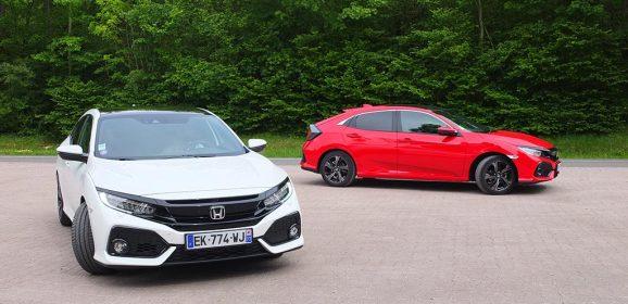 Essai Honda Civic 10ème Génération