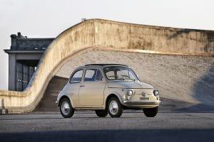 60ème anniversaire de la Fiat 500