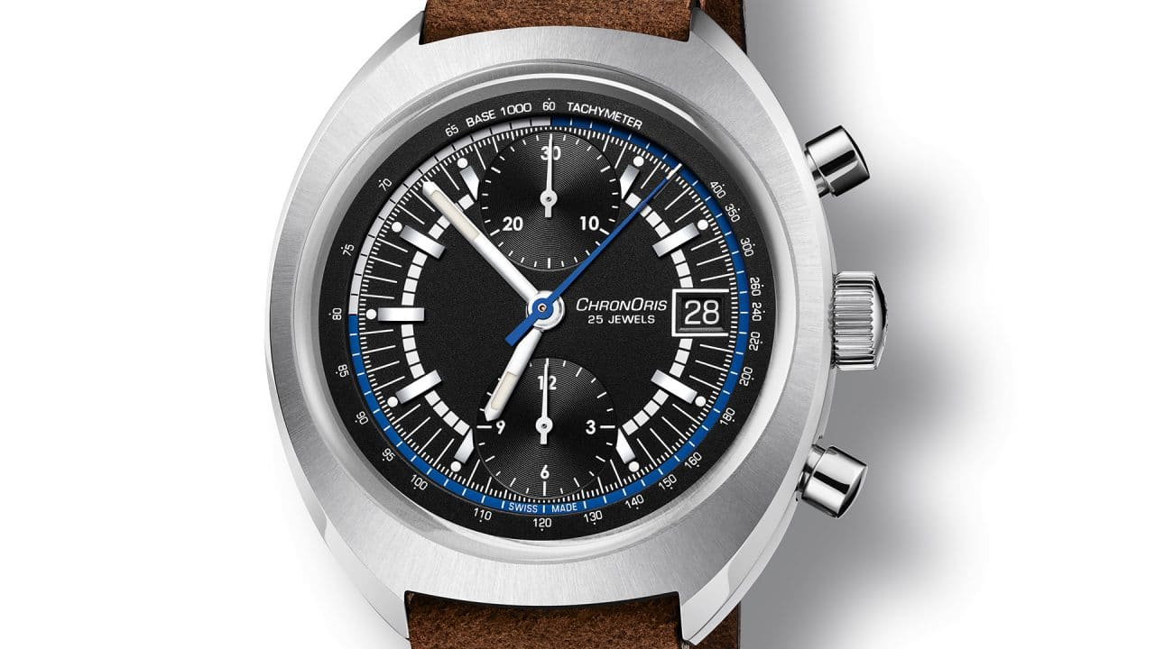 Oris Chronoris Williams 40th Anniversary Limited Edition