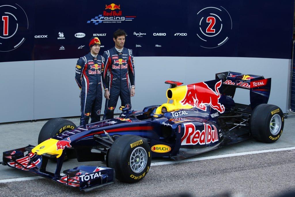 Red Bull Renault F1 RB7 2011 - Sebastian Vettel & Mark Webber