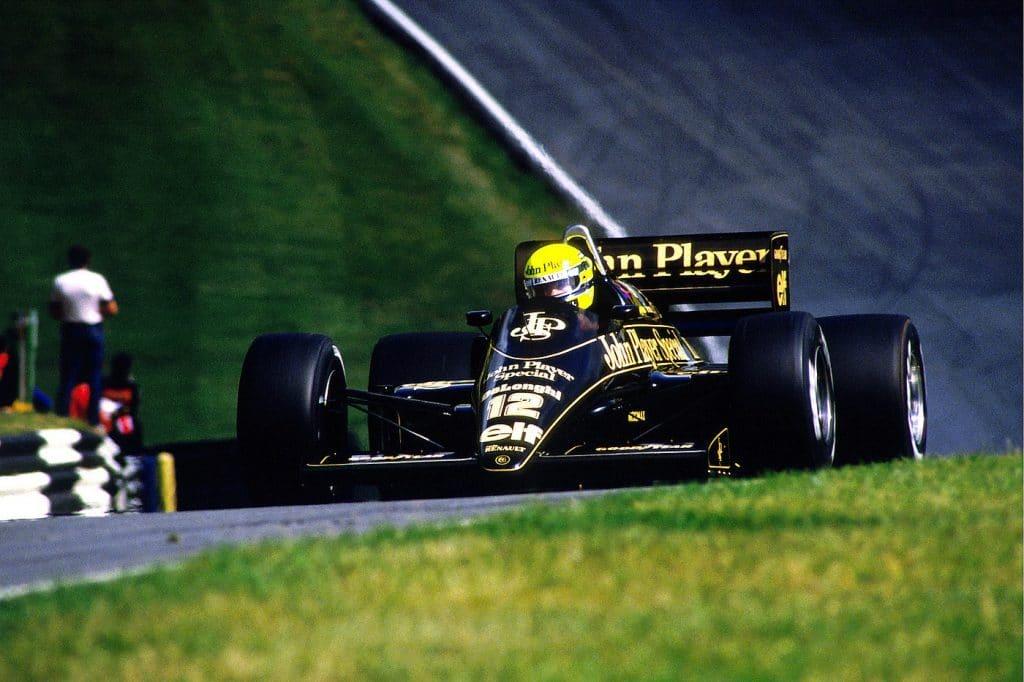 Ayrton Senna, Lotus 98T - Brands Hatch, 1986