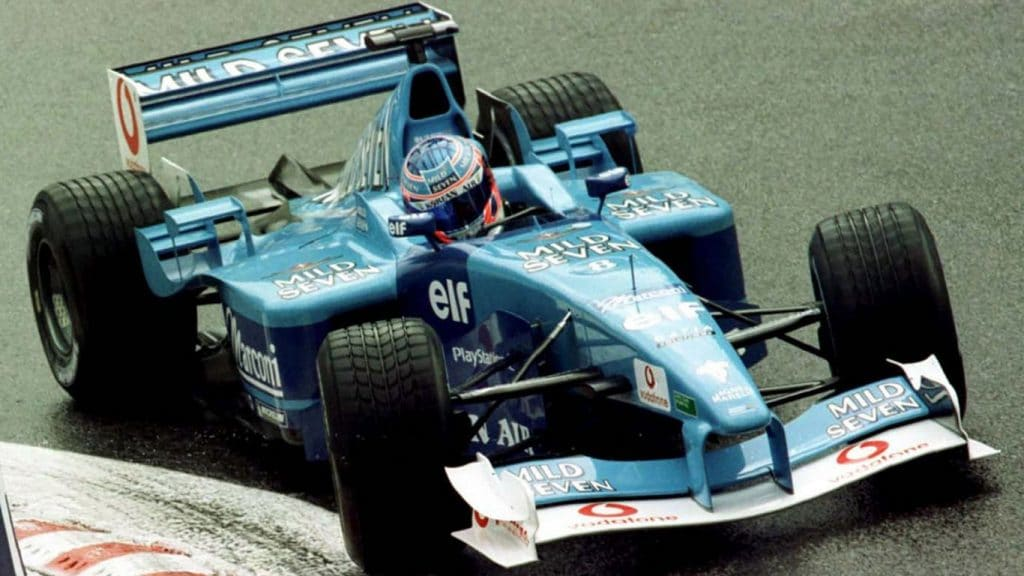 Benetton Renault B201