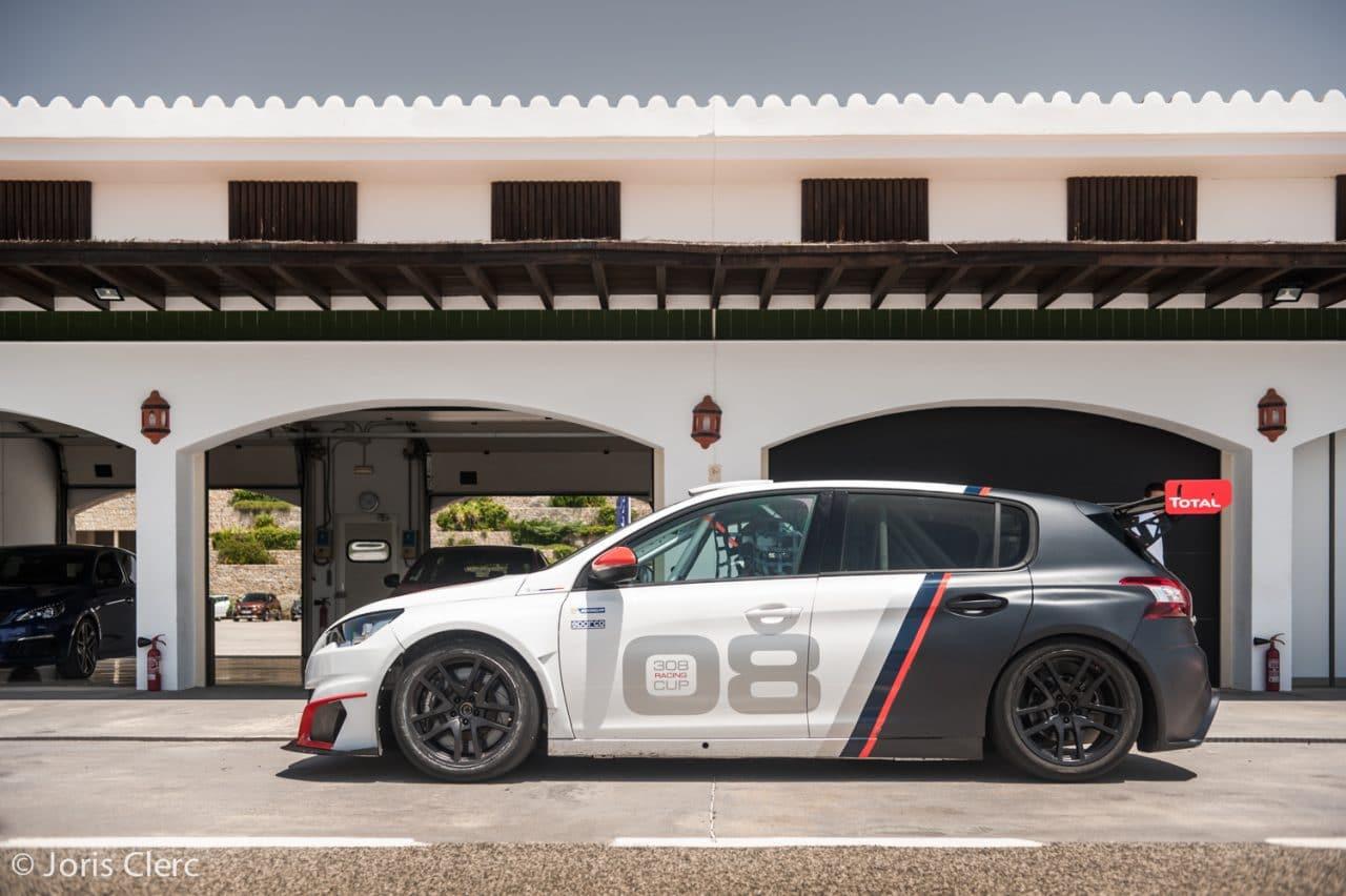 Essai Peugeot 308 Racing Cup - Circuito Ascari Resort - Joris Clerc ©