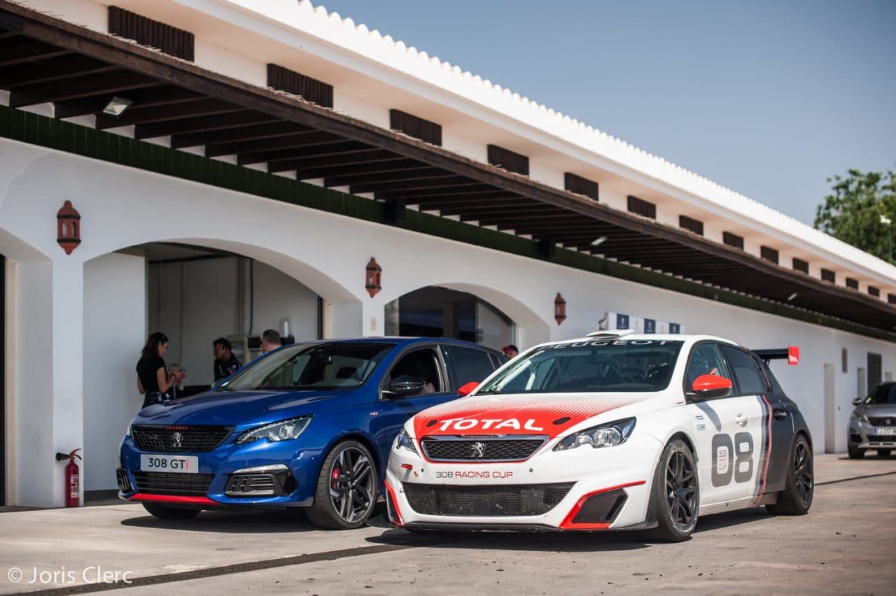 Essai Peugeot 308 GTi & Racing Cup - Circuito Ascari Resort - Joris Clerc ©