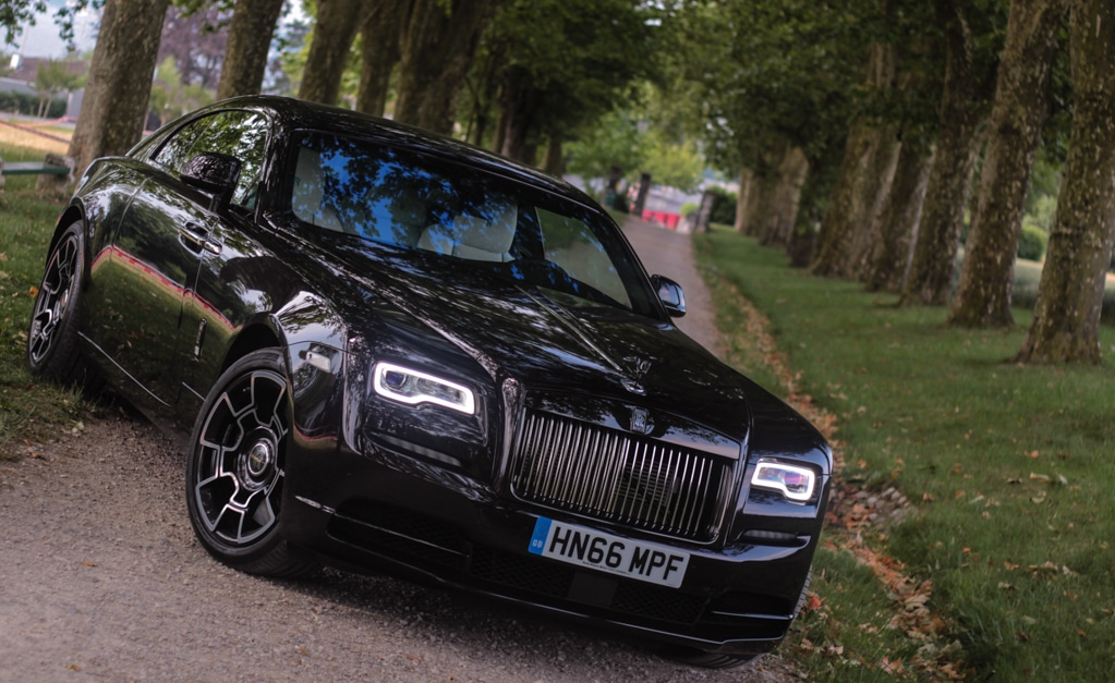 Rolls Royce Wraith Black Badge