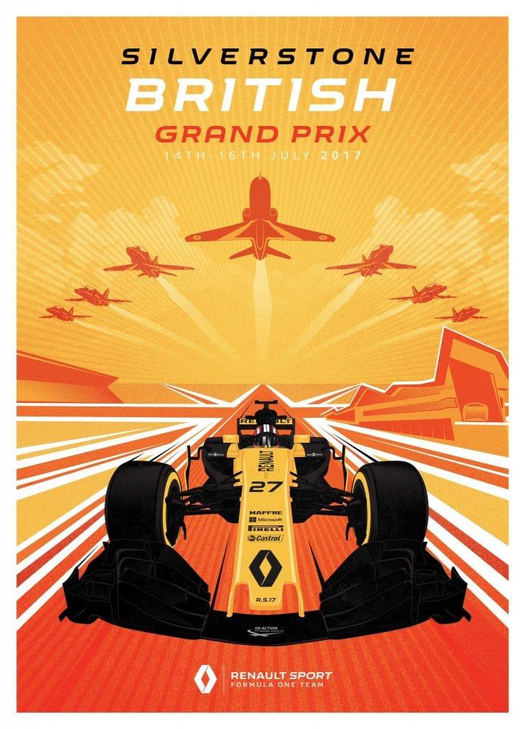 Renault 40 ans de F1 - Silverstone GP 2017