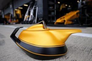 Renault Yellow Tea Pot 2017 - Silverstone