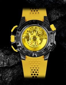 Jacob Epic X Chrono Yellow Only Watch