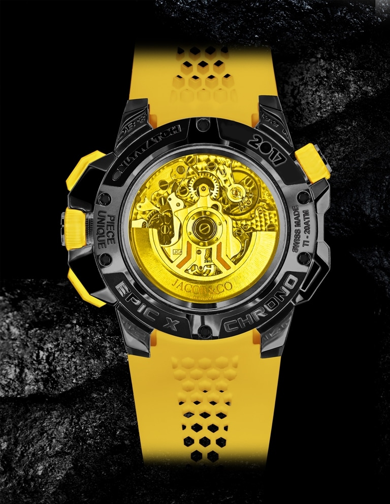Jacob Epic X Chrono Yellow_ONLYWATCH_BB (2)