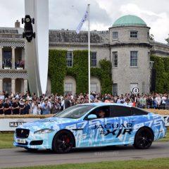 Jaguar XJR 575 : Teasing au Goodwood Festival of Speed