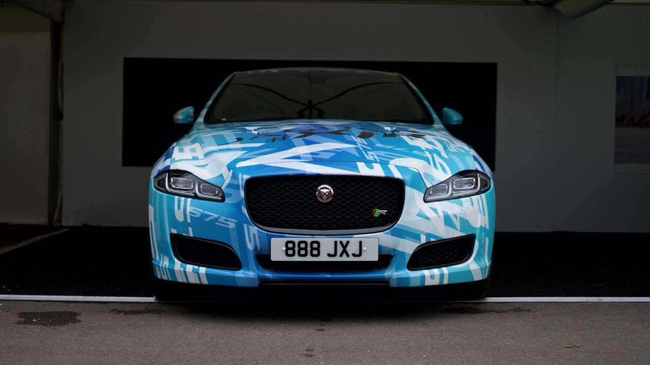 Jaguar-XJR-575-FOS Goodwood 2017-3