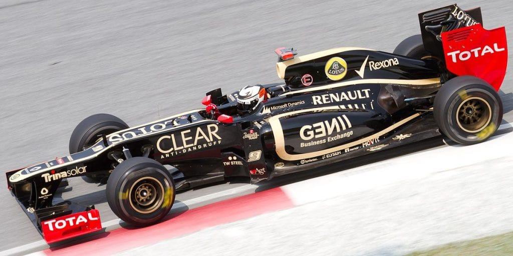 Lotus Renault E20 2012 - Kimi Raikkonen