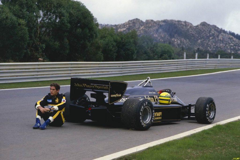 Lotus 97T 1985 - Arton Senna