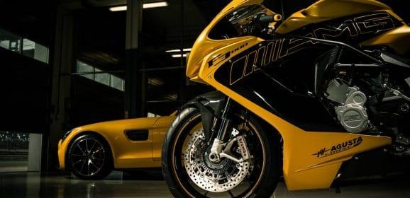 MV Agusta et Mercedes AMG : Un petit tour et puis s'en va…