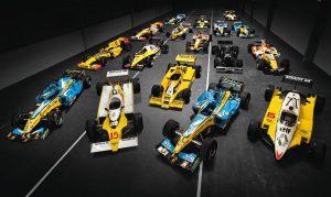 Renault 40 ans de F1 - 1977-2017
