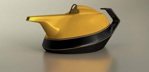 WTF : Renault Yellow Tea Pot… A good idea for McLaren Honda F1 !