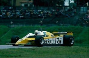 Renault F1 1980 - René Arnoux