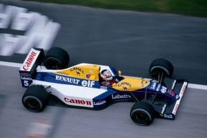 Williams Renault FW14 1991 - Nigel Mansell