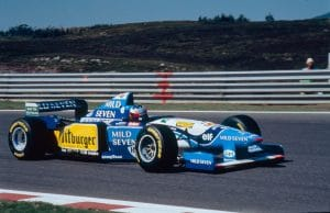 Benetton Renault B195 1995 - Michael Schumacher