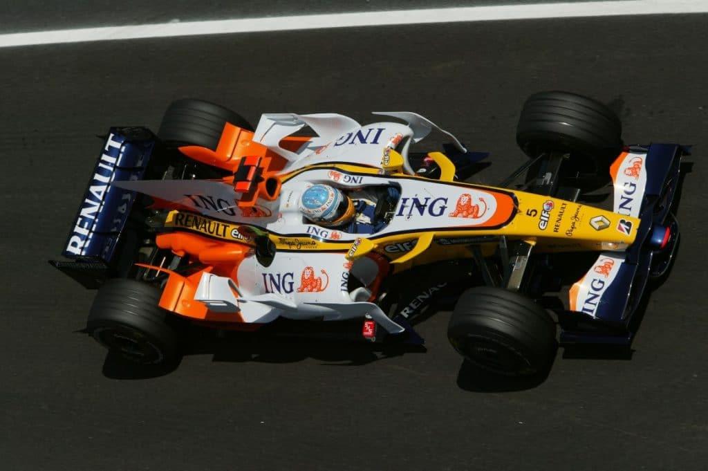 Renault F1 R28 2008 - Fernando Alonso